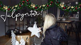 Julpyntar!! & blir inte så himla nöjd   VLOGG