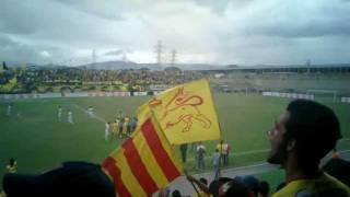 Aragua FC - Dvo Táchira. Himno del Estado ARAGUA