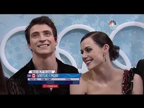 [HD]Tessa Virtue & Scott Moir CD 2010 Vancouver Olympics (Tango Romantica)