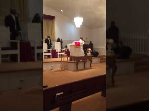 Elder Gordon at Faith Deliverance  Overcoming Cathedral Revival