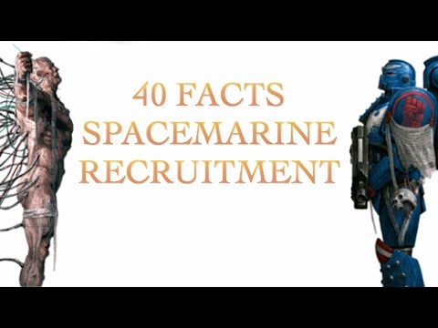 40 Facts and Lore About Space Marine Recruitment, 40K