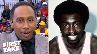 'Earl the Pearl' Monroe tops Stephen A.'s list of the top HBCU athletes | First Take