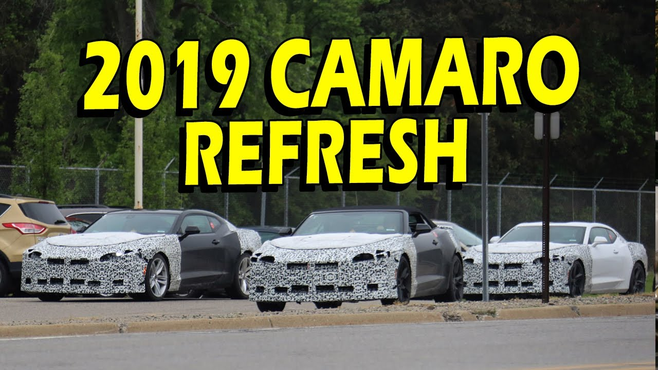 2019 Camaro Fleet Spotted! ZL1, SS, LT and Convertible ...