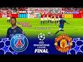 PSG vs Manchester United - Final UEFA Champions League 2022 - Full Match eFootball PES 2021