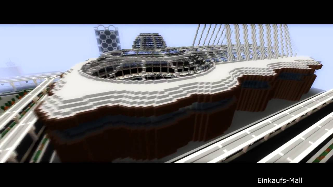 Stadt Der Zukunft Minecraft Wettbewerb Zukunftsstadt YouTube - Minecraft aubergewohnliche hauser