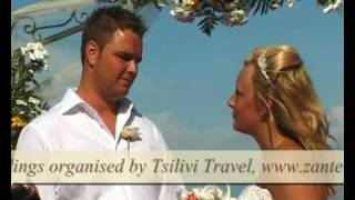 2010 BEACH WEDDINGS, Zante Weddings by Tsilivi Travel in Zakynthos Greece