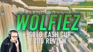 [VOD REVIEW] Wolfiez's 1st Place Solo Cash Cup: Controller Movement, W-Keying, Controlling Center