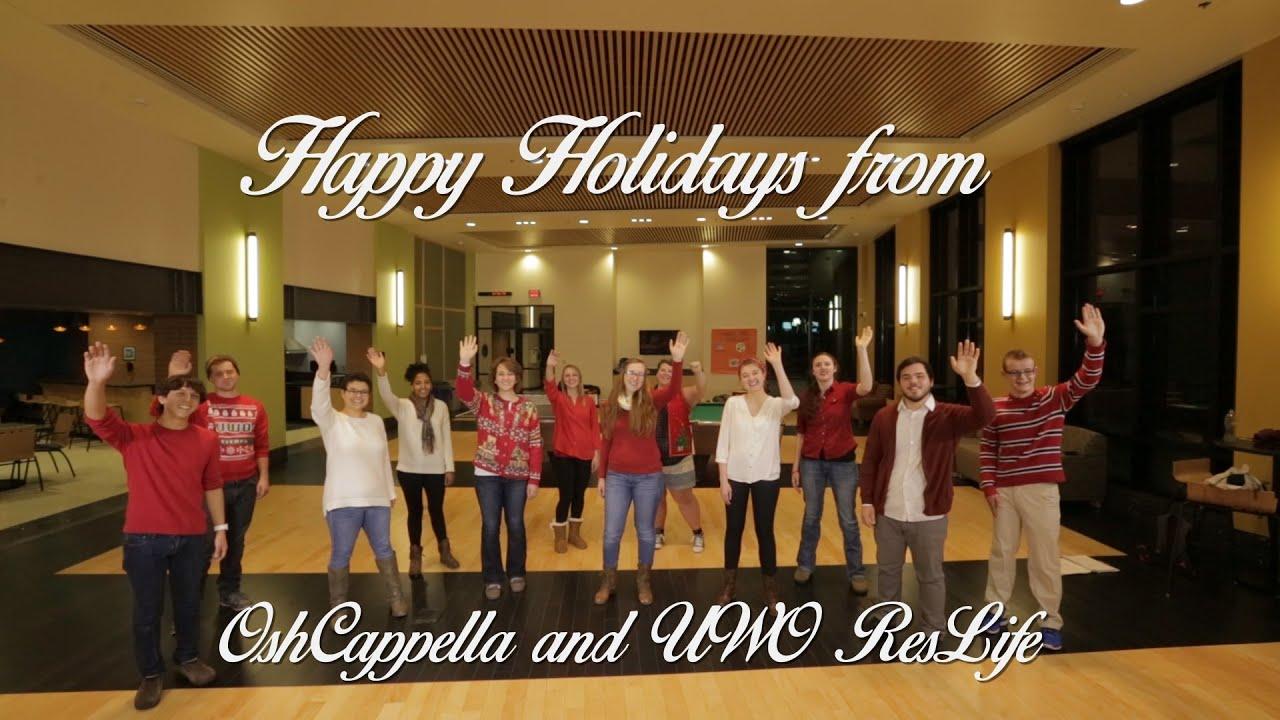 OshCappella Doo-Wop Christmas - YouTube