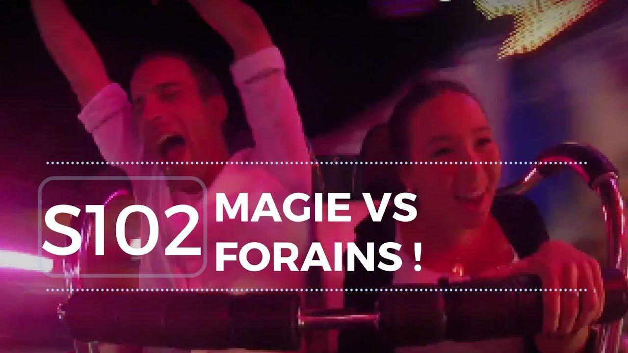 [S1EP2] SENSATIONS FORTES ! Magie DANS les attractions d'une fête foraine #YAM