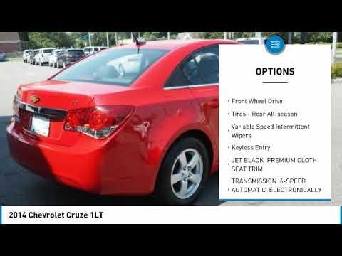 2014 Chevrolet Cruze 596