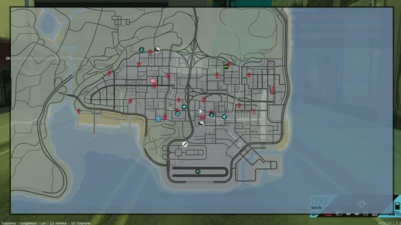 seemta térkép MTA Szerverbemutató//QuadCore MTA 1rész   YouTube