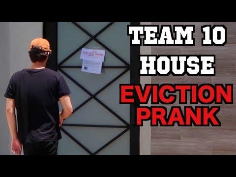 I PRANKED JAKE PAUL! **Eviction Notice PRANK**