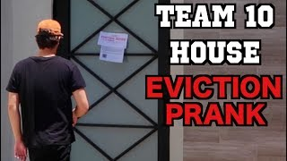 I pranked jake paul! **eviction notice prank**