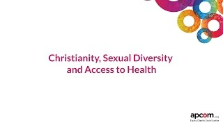 Christianity, Health and Sexual Diversity