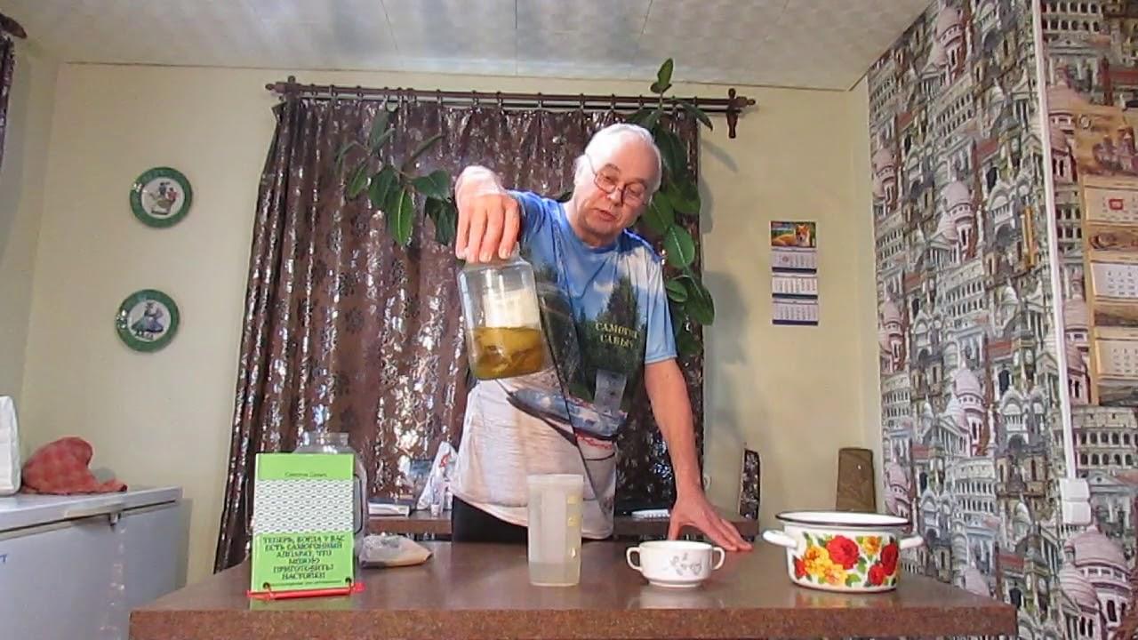 Настойка на яблочной кожуре / Рецепты настоек
