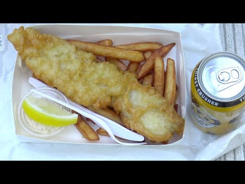 Sashimi Factory Fish And Chips Review At Southport Park