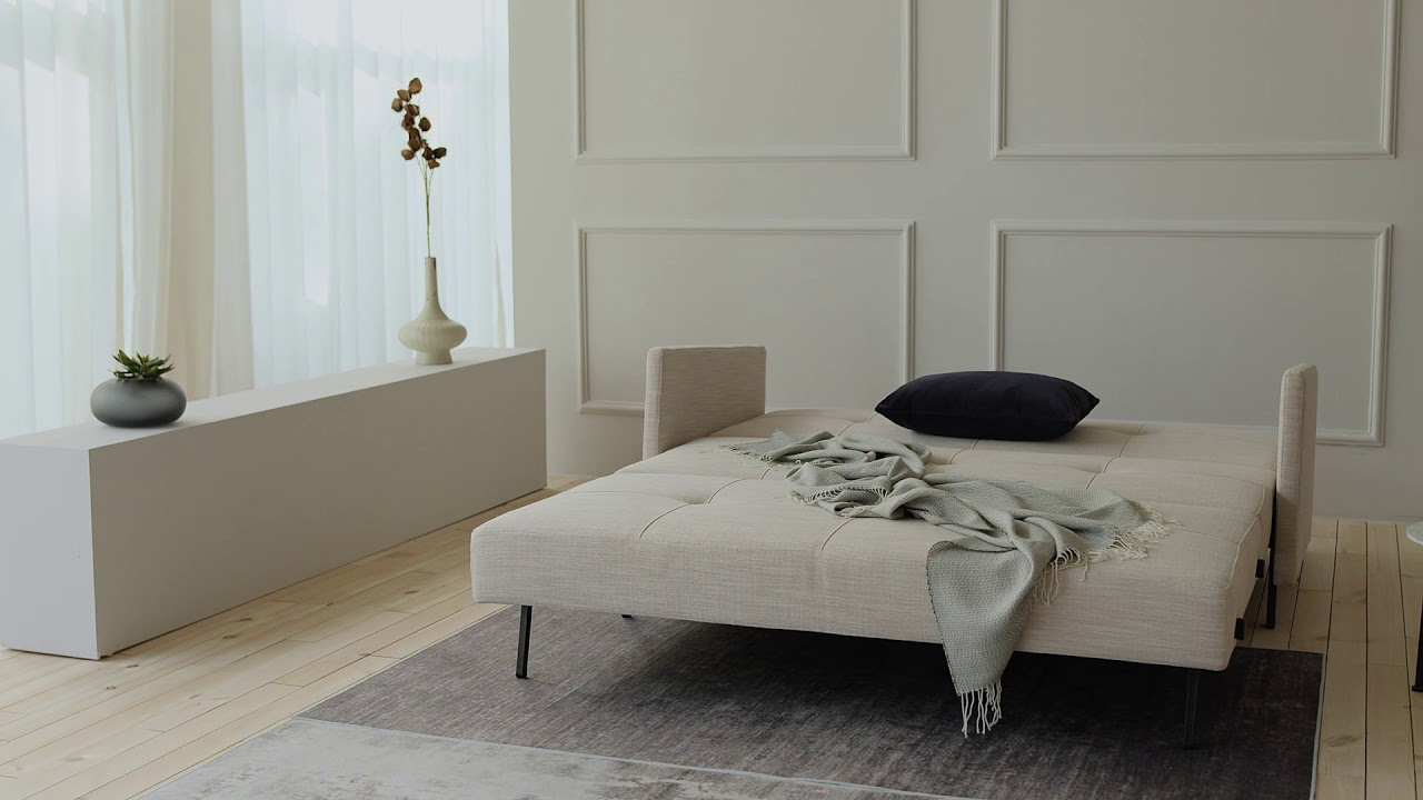 Stretch Sofa Bed - YouTube