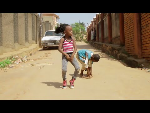 Ghetto kids team Rockstar Dancing EBINDABA BY SPIDER ROXY New Ugandan Music / Comedy 2016 HD. thumbnail
