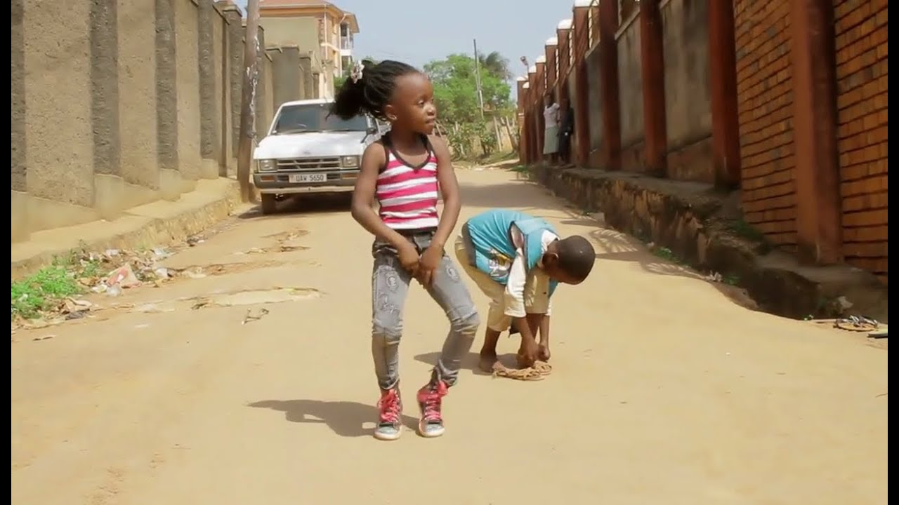 Ghetto kids team Rockstar Dancing EBINDABA BY SPIDER ROXY New Ugandan Music / Comedy 2016 HD.