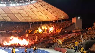 Hertha BSC Berlin - SG Dynamo Dresden (DFB-Pokal 2019) *Support Gäste*