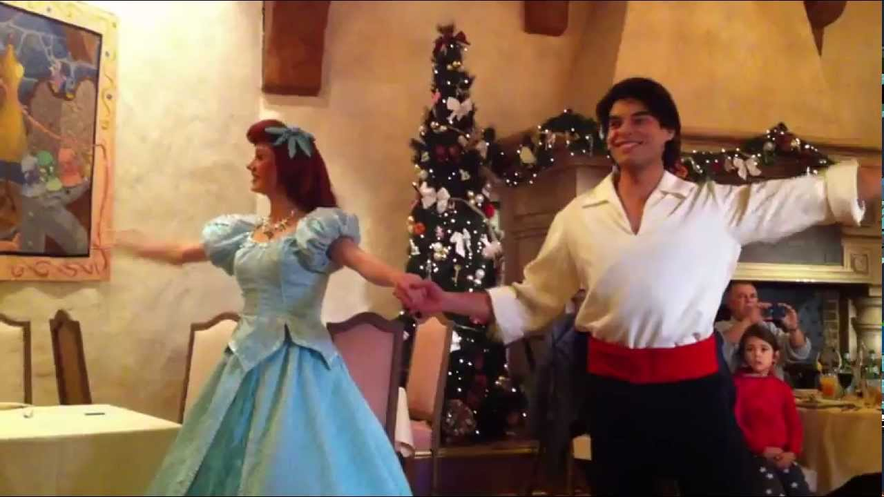 Disneyland Paris Ariel Eric YouTube