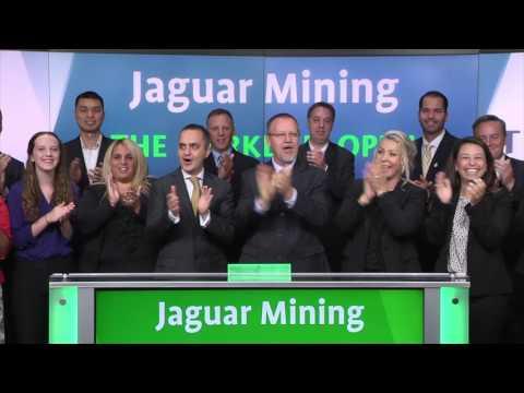 Jaguar Mining Inc. Opens Toronto Stock Exchange, August 10, 2016