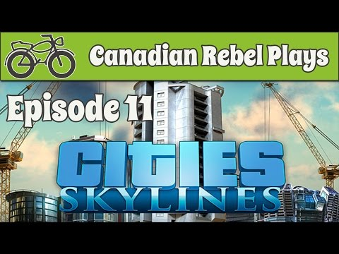 Let's Play - Cities:Skylines (Ep 11) How to Respond to a Worker Shortage