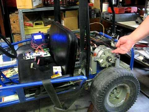 Igbt Driven Alternator On Go Kart Using 3 Phase Pwm Signal