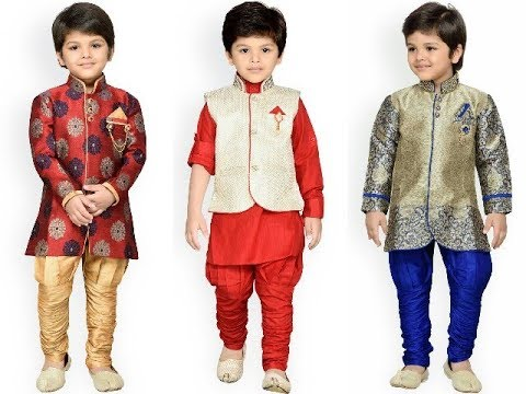 new latest eid special kids clothing kurta designs for boys party