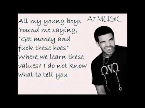 Drake - Girls Love Beyonce!! *LYRICS ON SCREEN!* BEST VERSION!**