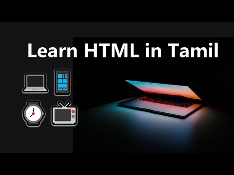 Learn HTML In Tamil | Beginner To Website | Complete Guide And Tutorial  | Tamil Hacks