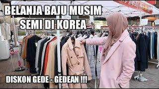 Belanja Baju Musim Semi Di Korea