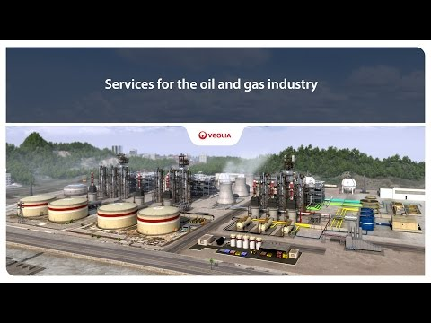 Services for the oil and gas industry - Veolia