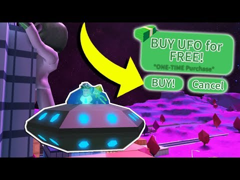 BUYING THE UFO FOR FREE! *HOW TO* (Roblox Jailbreak)