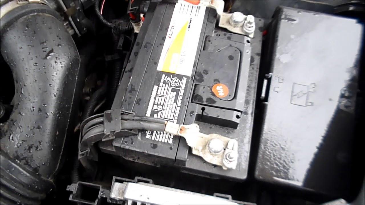 2004 2017 Chevy Malibu Battery Location