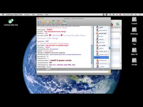 Camfrog Video Chat Parental Controls Mac OS X