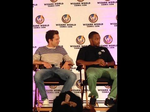 Sebastian Stan and Anthony Mackie Chicago Panel