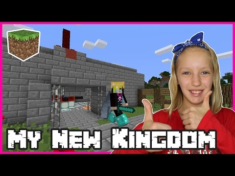 I'm Building My New Kingdom in Minecraft