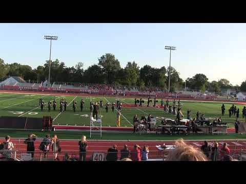 New Prairie High School Marching Band September 9, 2017 Performance