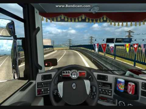ETS 2 - Slovakia Maps - Renault Magnum - Lucenec - Michalovce