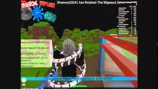 How to do a glitch on ROBLOX Wipeout