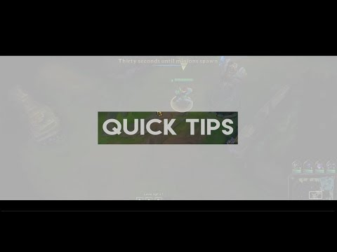 Quick Tips - Early Lane positioning and First Ward placement