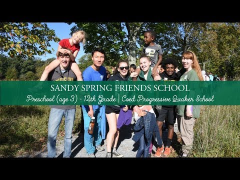 Let Your Lives Speak at Sandy Spring Friends School