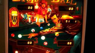 Bally Eight Ball Pinball Machine: Coin Mechs, Tilt & Slam Tilt