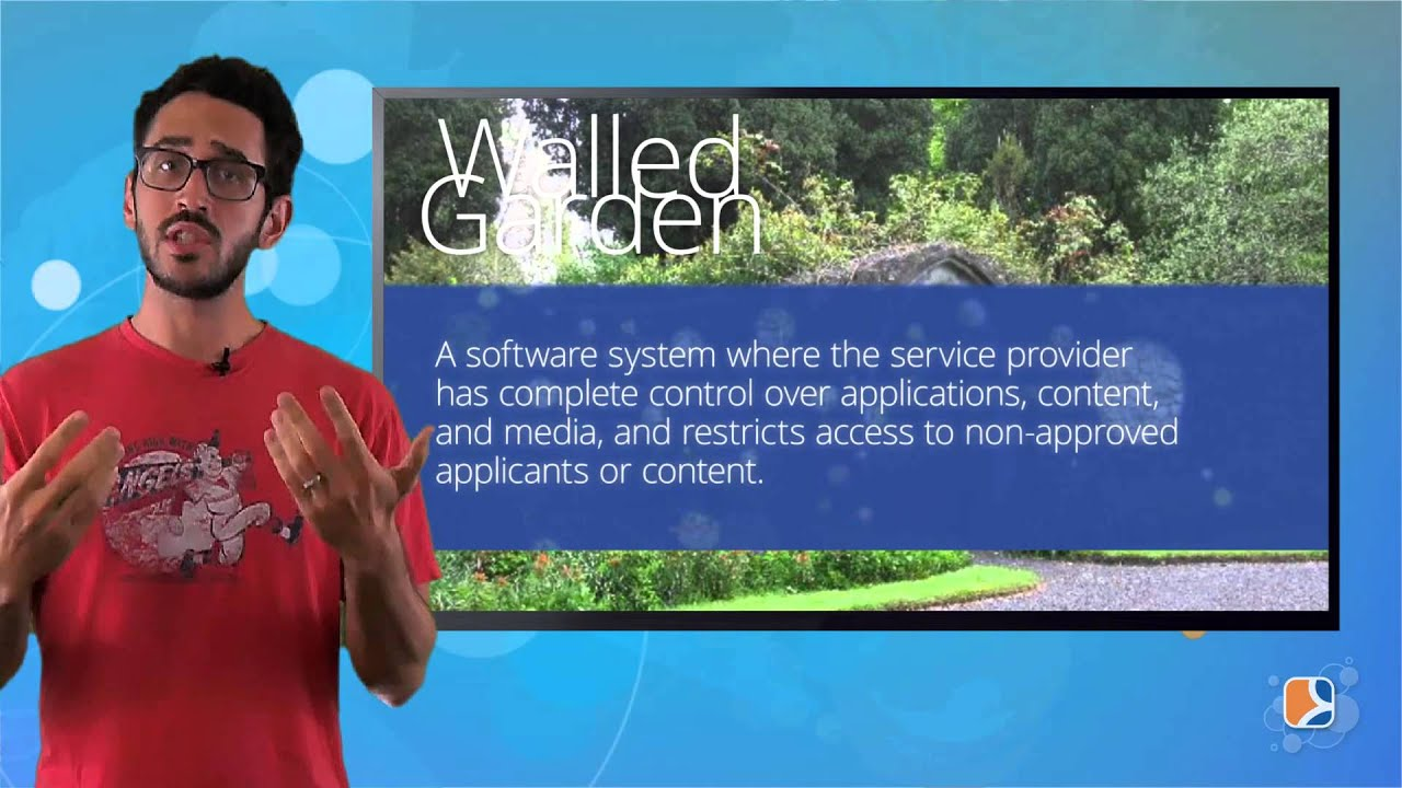 what's a walled garden - youtube