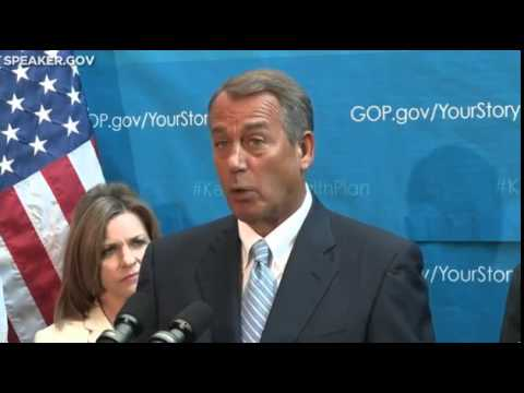 John Boehner: Obamacare Needs To Be Scrapped Now
