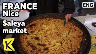 【K】France Travel-Nice[프랑스 여행-니스]살레아 재래시장의 주전부리/Saleya market/Cote d