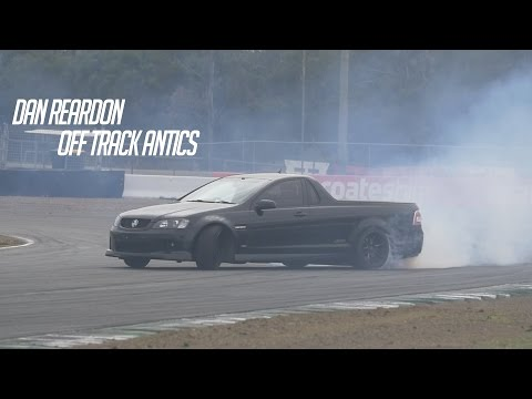 Dan Reardon - Off Track Antics