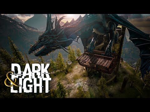 Dark And Light - HIGH LVL KEBO TAMING & GIANT DRAGON TRANSPORT, VOLCANO #4 - DNL Survival Gameplay