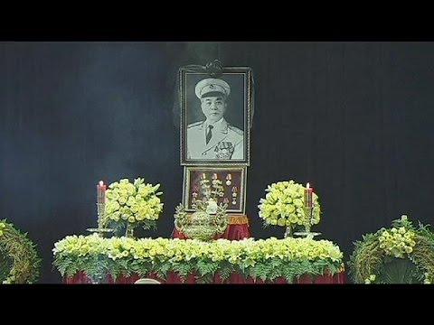 State funeral in Vietnam for war hero General Giap